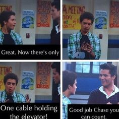 I LOVED WHEN THEY SWITCHED THEIR CHIPS AND CHASE WAS DUMB