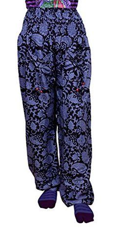 Krishna Mart Cotton Floral Print Boho Gypsy Trousers Pants Lounge Wear Krishna Mart India http://www.amazon.com/dp/B00T4IXB1O/ref=cm_sw_r_pi_dp_BTRBvb0V4SJWN
