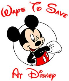 ways to save at disney via saving everyday