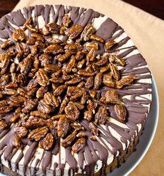 Turtle Pumpkin Ice Cream Cake Recipe