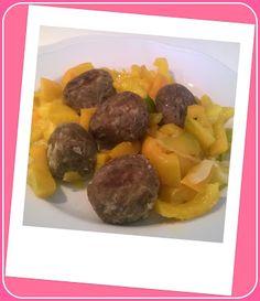 No gluten! Yes vegan!: Polpette di lenticchie al sugo di peperoni