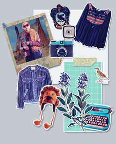 harry potter challenge || 1/10 anything >> neville and luna scrapbook
