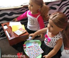 printable doll sized school supplies
