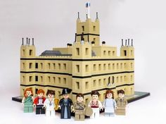 Downton Abbey in Legos, I love this!