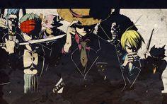 Brook (One Piece) Franky (One Piece) Monkey D Luffy One Piece (anime) Roronoa Zoro wallpaper (#373454) / Wallbase.cc