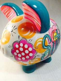 1000 images about stuff on pinterest stretch marks sherri hill and corgis - Extra large ceramic piggy bank ...