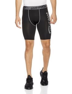 a63cd07b8837 Men s Compression Moisture-Wicking Training Shorts - Black - CL1867MQUCX