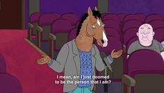 Bojack Horseman Great Works Of Art, Will Arnett, Bojack Horseman, Scott Pilgrim, My Spirit Animal, Animation Series, Show Horses, Movies Showing, Just In Case
