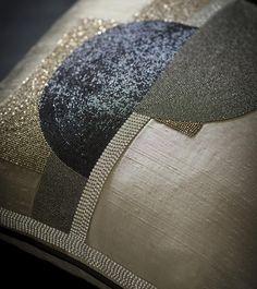 Piet cushion - Beaumont Fletcher luxury handmade furniture and bespoke fabrics - Luxury Beauty - http://amzn.to/2hZFa13