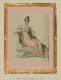 EKDuncan - My Fanciful Muse: Regency Era Fashions - Ackermann's Repository 1814