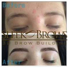 New innovation, Sleek 3D Brow Building, rather than relying solely on the removal of hair, Sleek Brows add where needed and take where unwanted!