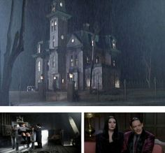 Famous movie houses (tons more at the source)