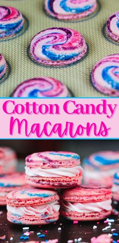 Fun Baking Recipes, Candy Recipes, Sweet Recipes, Cookie Recipes, Dessert Recipes, French Macaroon Recipes, French Macaroons, How To Make Macaroons, Making Macarons