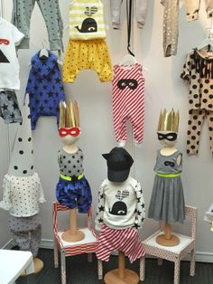 Bubble London part two – summer 2013 children's fashion trends, today prints and pattern.