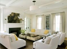 white comfy couches