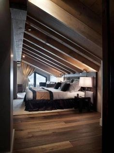Small Attic Bedroom Design Ideas 9