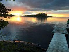 Moosehead Lake, looking toward Ledge Island