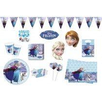"""riesiges Disney Frozen Eiskönigin """"Ice Skating"""" Kindergeburtstag Party Set C"""