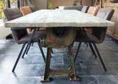 Tafels industriële meubelen te arnhem bva auctions online