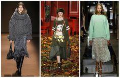Модные женские свитера-2016: оверсайз