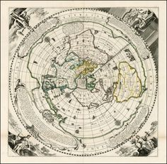 This has some cool info on maps that would look very cool printed out.    The Flat Earth theory has gained a surprising amount of traction in recent years, thanks largely to YouTube. What exactly do Flat Earthers believe?