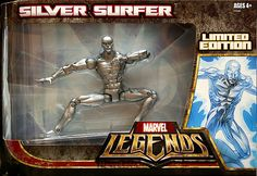Marvel Legends Silver Surfer Silver Surfer  // Pinned by: Marvelicious Toys - The Marvel Universe Toy & Collectibles Podcast [ m a r v e l i c i o u s t o y s . c o m ]