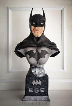 Batman Bust by Kek Couture
