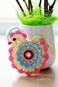 Happy Crochet Chick