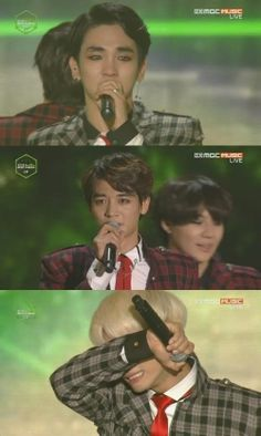 SHINee winning best group dance performance!!