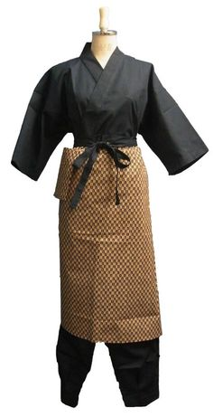 Traditional Sushi Chef Uniform Jinbei Pants And Aprons - Buy Sushi Chef Product on Alibaba.com
