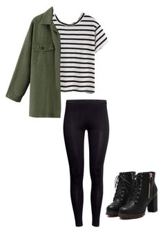 """Winter outfits for teens"" by madisenharris ❤ liked on Polyvore featuring moda e H&M"