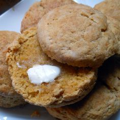 Spiced Sweet Potato Biscuits - Sugar Dish Me