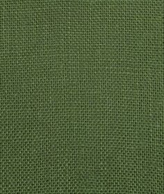 Love this hunter green burlap- available at Online Fabric Store