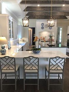 Eat In Kitchen, Home Decor Kitchen, Rustic Kitchen, Kitchen Furniture, Home Kitchens, Kitchen Ideas, Small Kitchens, Farmhouse Kitchens, Farmhouse Sinks