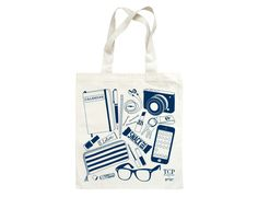 Maptote   College Prepster Grocery Tote