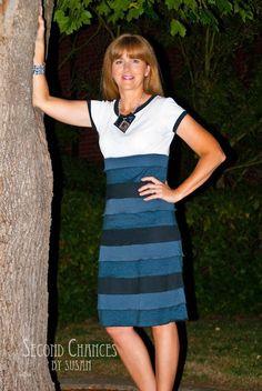 Second Chances by Susan: Layered T-Shirt Dress
