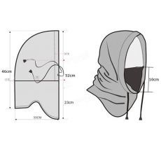 Free pattern for sewing a balaclava Sewing Hacks, Sewing Crafts, Sewing Projects, Techniques Couture, Sewing Techniques, Dress Sewing Patterns, Clothing Patterns, Sewing Clothes, Diy Clothes