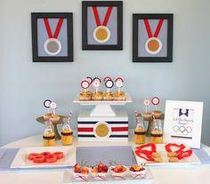 Olympics Dessert Table
