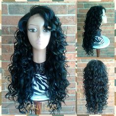 ON SALE // Long & Curly Lace Front Wig With Baby by GloryTress