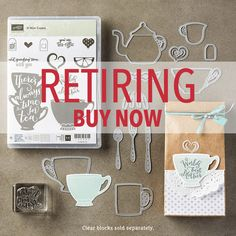 Bruno Bertucci   Stampin Up   stampinbruno   2015/2016 Annual Catalogue   Retiring List   Have a Cuppa   A Nice Cuppa   Cups and Kettles    Handmade Card