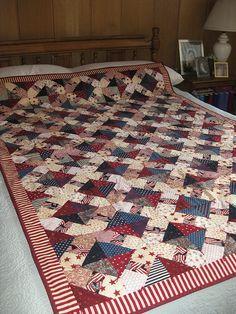 Patriotic Quilt 2009 | Inspiration.....Love this pattern