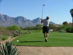 FORE! (Picture sent in from one of our annual pass holders here at The Views Golf Club at Oro Valley)