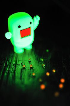 Marbles Domo That Glows in the Dark