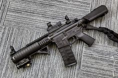 Here's our top 10 upgrades list for tricking out your rifle to help get you started. Weapons Guns, Airsoft Guns, Guns And Ammo, Ar15 Pistol, Ar Rifle, Ar 15 Builds, Ar Build, Assault Rifle, Shotgun