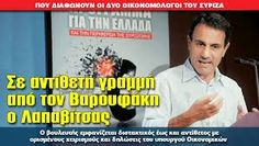 τα πάντα για τον άνθρωπο         : «Βόμβα»Λαπαβίτσα: Με την συμφωνία του Eurogroup δε...