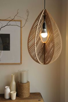 Home decor em 2019 lighting, lamp design e lighting design. Big Design, Wood Design, Interior Lighting, Lighting Design, Modern Lighting, Laser Cut Lamps, Lampe Art Deco, Luminaire Design, Wooden Lamp