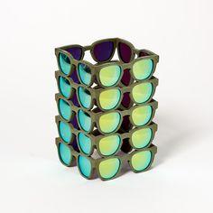 Panopticon Green / 3Dprinted design objet #3dprinted #design #sculpture #art #objet Sculpture Art, Cuff Bracelets, Creative, Green, Jewelry, Design, Jewlery, Jewerly, Schmuck