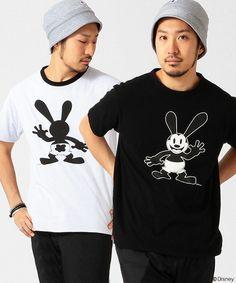 Champion,CHAMPION×BEAMS / 別注 リバーシブル Tシャツ (Oswald) Disney(ディズニー)です。このアイテムを着ているコーディネートを探すこともできます。