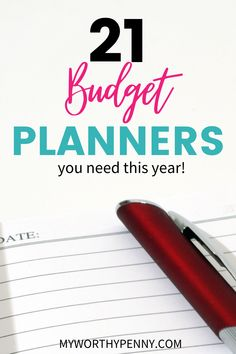 Looking for awesome tools and resources for the financially organized? Here are the best budget planners that you need to prepare for next year and improve your personal finance. You can use this budget planner to take your budgeting finances to the next level. #budgetplanner Budgeting Finances, Budget Planner, Best Budget, Personal Finance, Frugal, Planners, Gift Guide, Saving Money, Improve Yourself