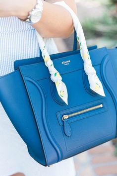 353b32281f8d How to Style Clothing with Seersucker Pattern. Celine Micro LuggageCeline  PurseFemale ...